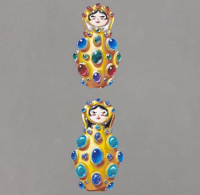 Le dessin de bijoux